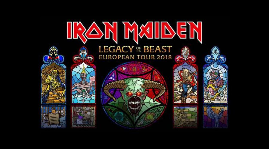 Iron Maiden: novos vídeos mostram momentos da nova turnê