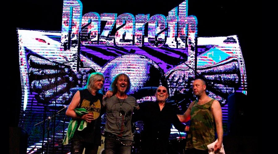 Nazareth anuncia novo disco! Ouça 1º single