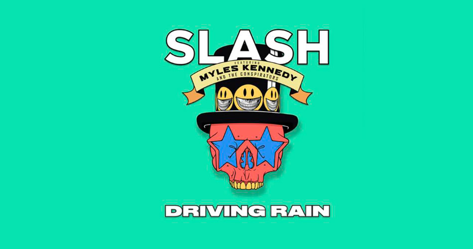 Ouça novo single de Slash com Myles Kennedy & The Conspirators