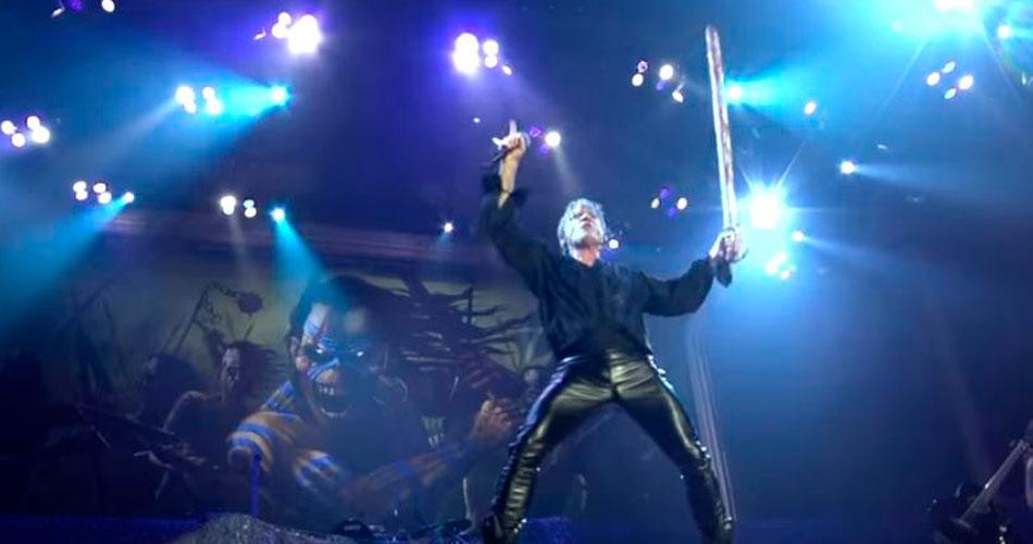 "Vídeo: Iron Maiden agradece fãs por presença em nova turnê ""Legacy Of The Beast"""