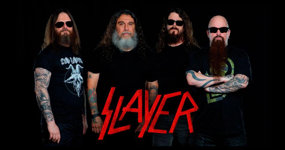 Slayer: turnê de despedida passará pela América do Sul