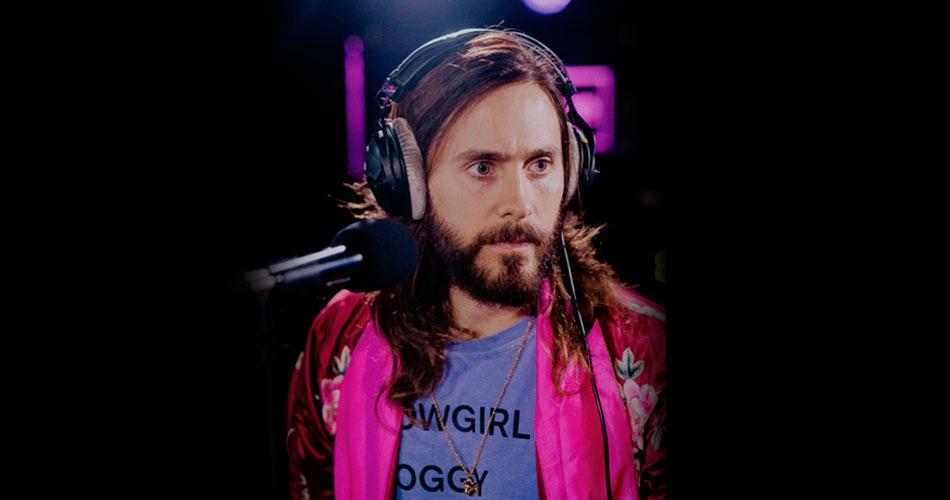 """Thirty Seconds To Mars toca """"Rescue Me"""" no Live Lounge da Radio 1 da BBC"""