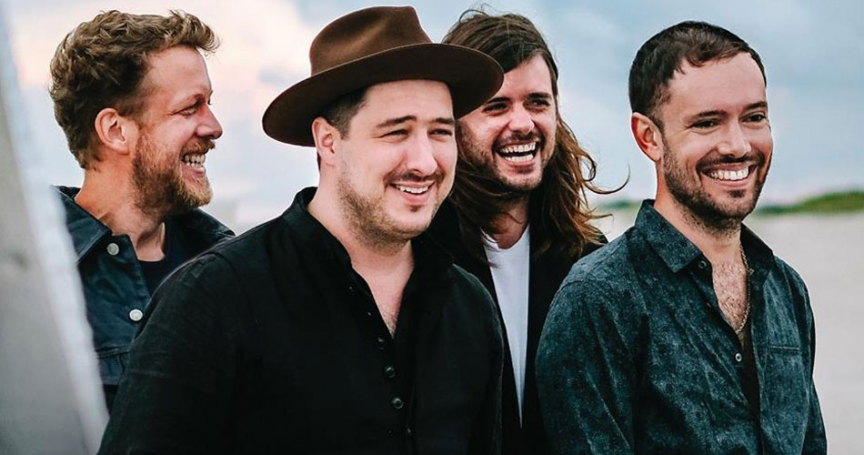 "Mumford and Sons libera lyric videos do disco ""Delta"""