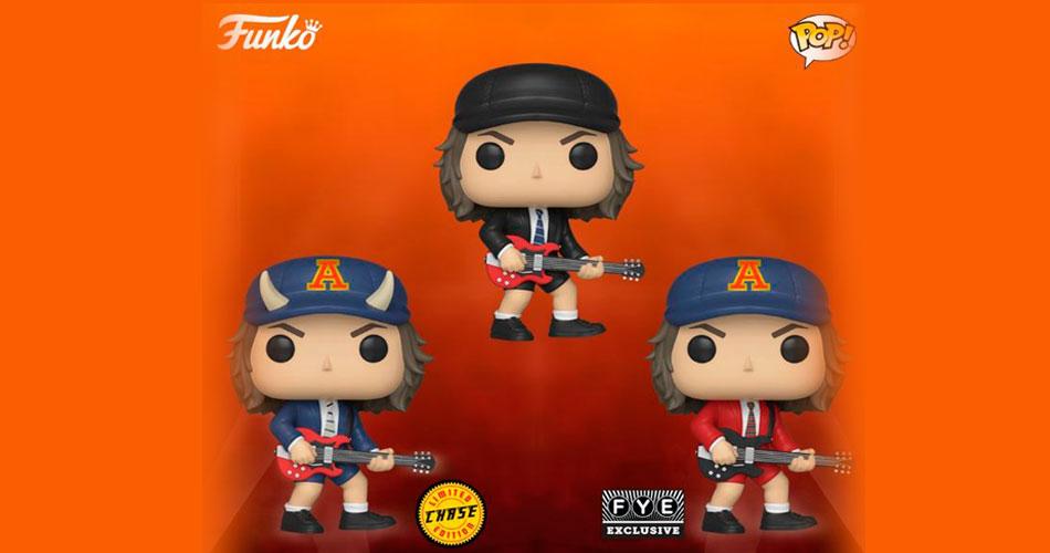 AC/DC: Angus Young ganha linha de bonecos Funko
