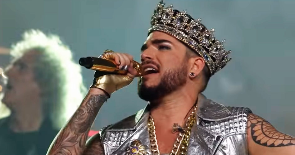 Queen + Adam Lambert tocam na cerimônia do Oscar