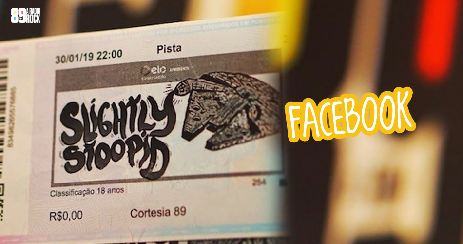 Concurso Slightly Stoopid via Facebook