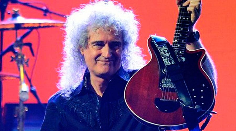 Brian May, do Queen, é eleito o melhor guitarrista de todos os tempos