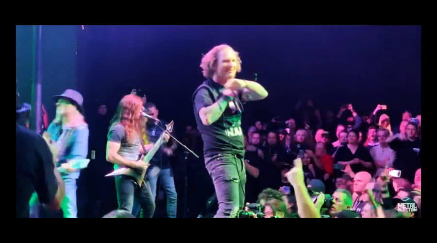 "Vídeo: Dave Grohl e Corey Taylor tocam ""Walk"" com Rex Brown, do Pantera"