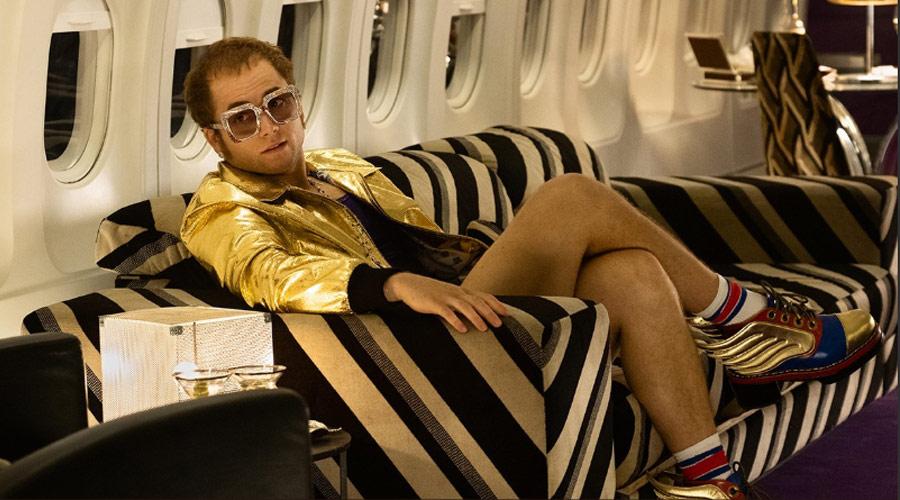 Filme sobre Elton John estreia em terceiro lugar nos Estados Unidos