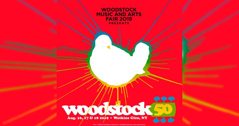 Woodstock 50 confirma The Killers, Imagine Dragons e Santana