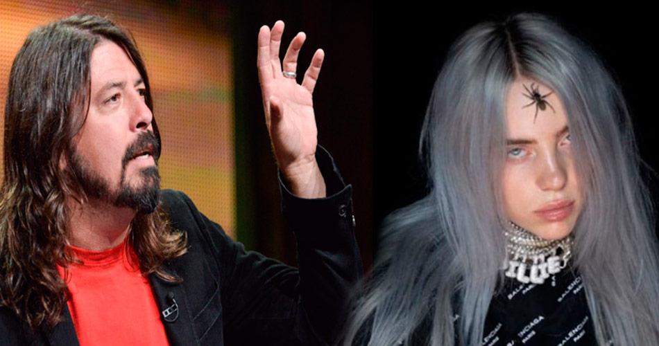 Dave Grohl compara sucesso da cantora Billie Eilish ao do Nirvana
