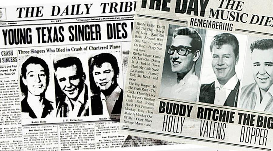 """""""O dia em que a música morreu"""" faz 60 anos"""