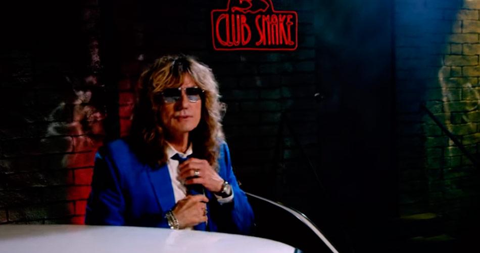 """Whitesnake atualiza detalhes de novo álbum e mostra vídeo de 1° single, """"Shut Up & Kiss Me"""""""
