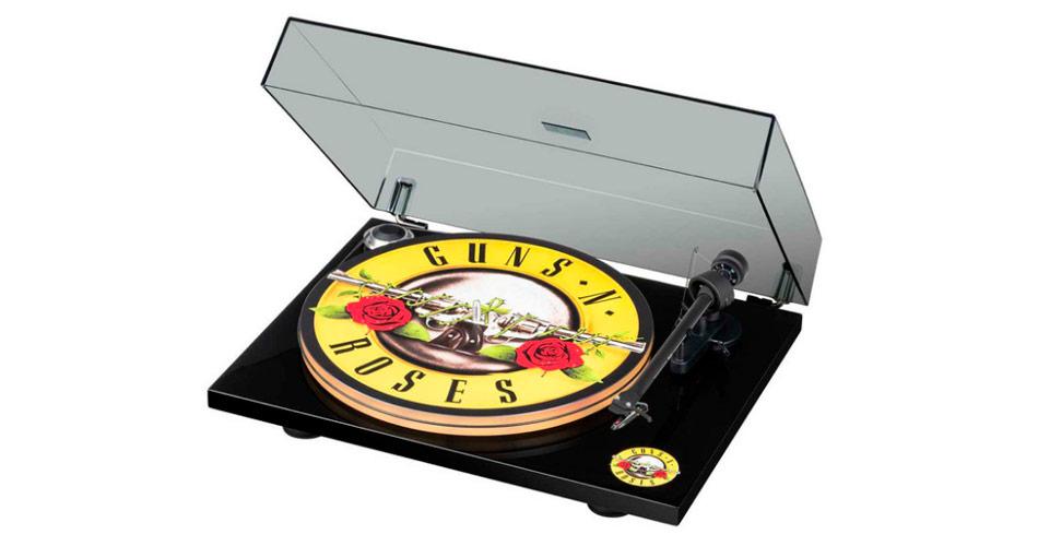 Guns N´Roses ganha série personalizada de toca-discos