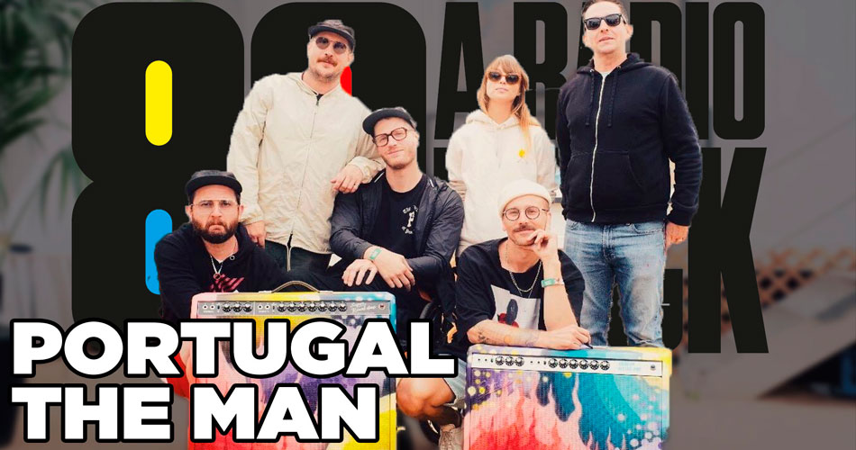 "Eric Howk, guitarrista do Portugal The Man: ""Vamos chegar com um som alto e pesado"", sobre show no Lolla"