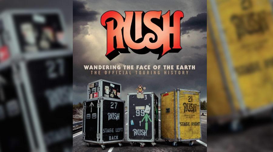 Livro conta história de todas as turnês do Rush