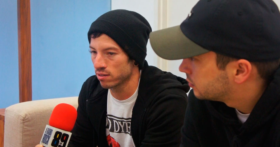 Conversamos com os caras do Twenty One Pilots