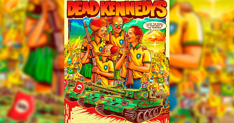 Dead Kennedys: post sobre shows no Brasil causa polêmica