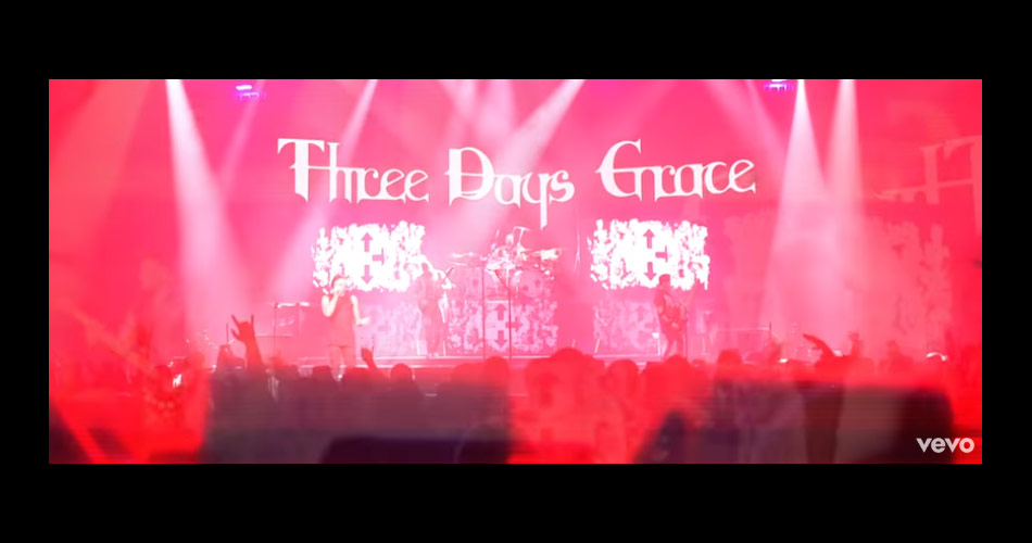 "Three Days Grace lança videoclipe para ""Right Left Wrong"""