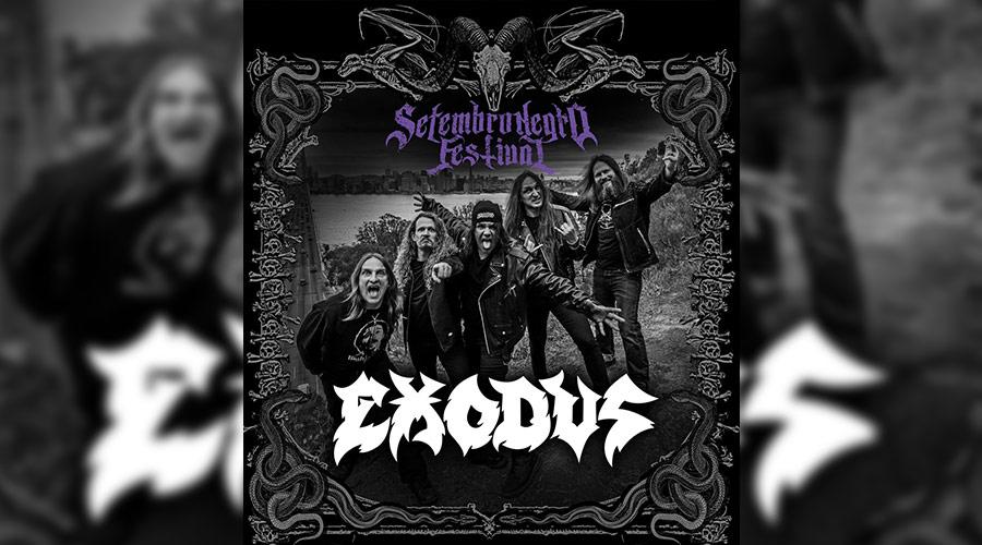 Exodus é anunciado como atração especial do festival Setembro Negro