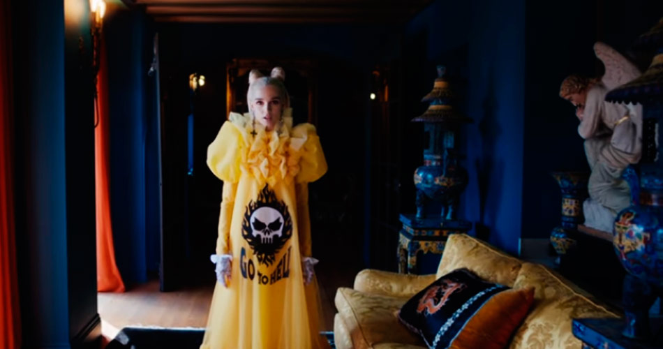 Fever 333 dá peso ao novo single da cantora Poppy