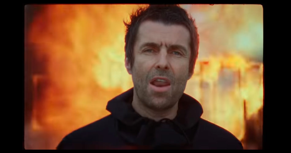 "Liam Gallagher libera clipe de ""Shockwave"""