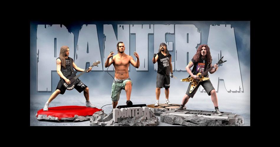 Pantera ganha estátuas de membros da fase de 'Cowboys From Hell'