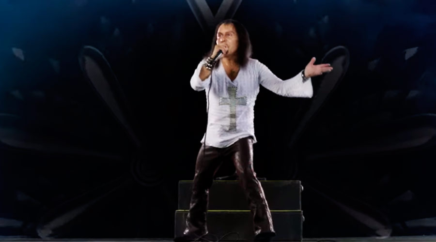 Veja novo trailer do holograma de Ronnie James Dio