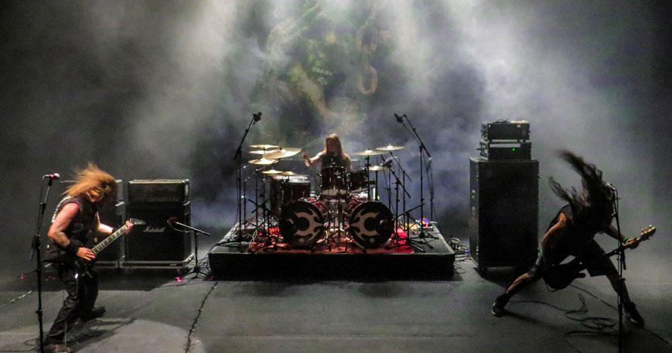 Claustrofobia abre show do Slayer em SP