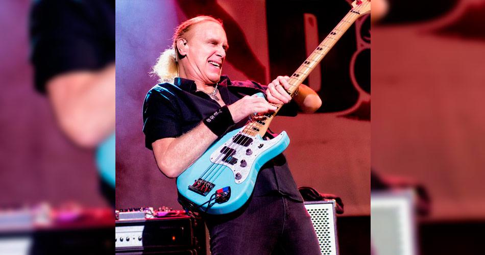 Billy Sheehan: lendário baixista agenda 'Masterclass' em São Paulo