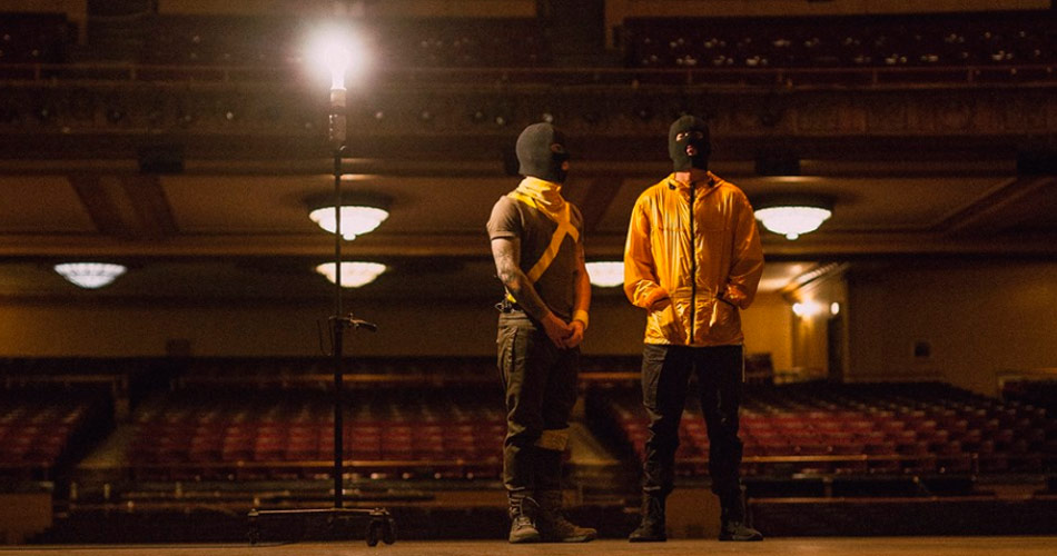 "Twenty One Pilots libera videoclipe de ""The Hype"""