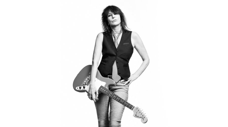 "Chrissie Hynde, dos Pretenders, canta ""Sweetheart Like You"", de Bob Dylan"