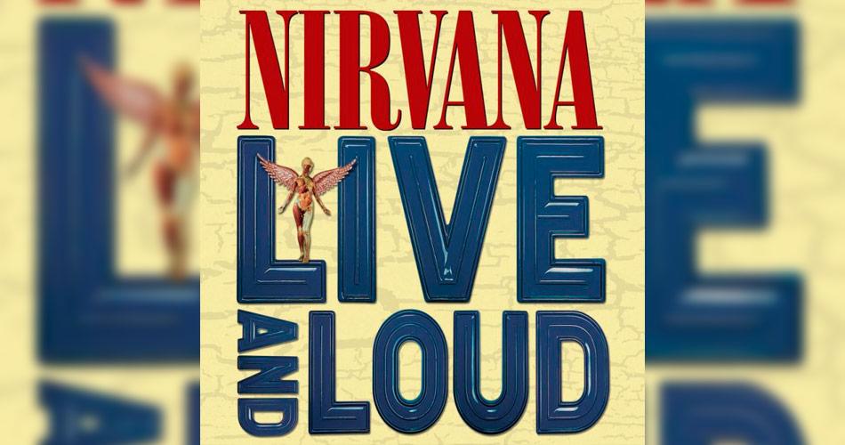 """Show """"Live and Loud"""" do Nirvana é liberado no YouTube e em plataformas de música"""