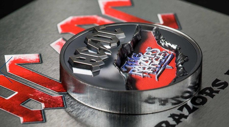 Dois álbuns do AC/DC ganham moedas comemorativas