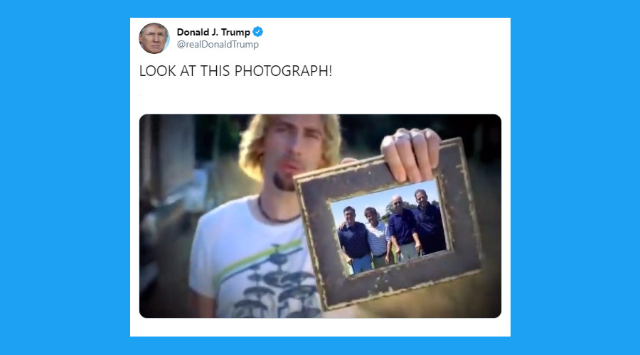 Donald Trump usa música do Nickelback para atacar adversário político
