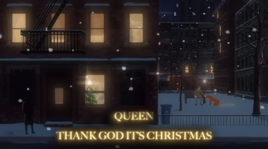 "Queen lança animação de natal para ""Thank God It's Christmas"""