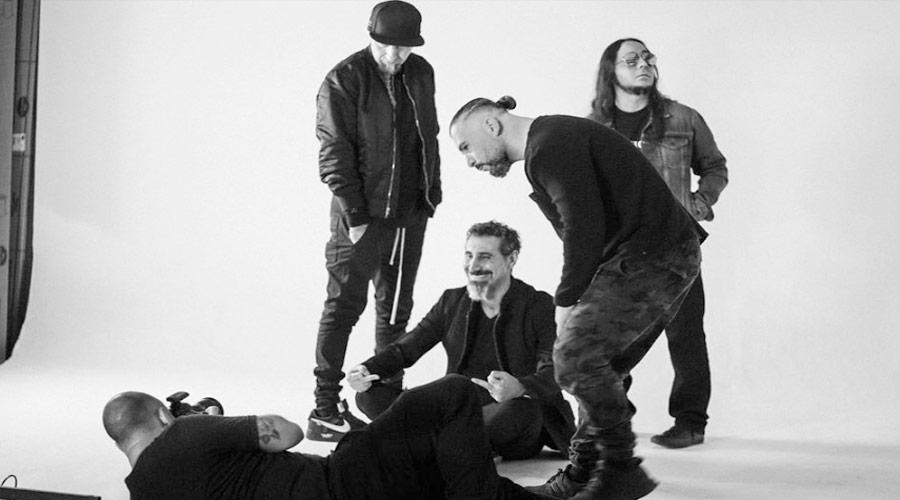 System Of A Down faz ensaio fotográfico e fãs voltam a acreditar em disco novo