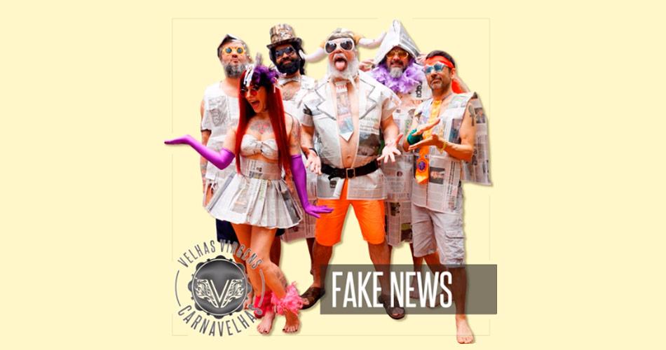 """Conheça """"Fake News"""", marchinha do Velhas Virgens para o Carnaval Rock And Roll 2020"""