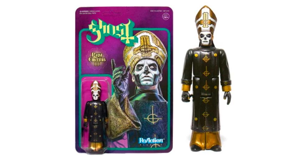 Papa Emérito III, do Ghost, ganha versão em boneco colecionável