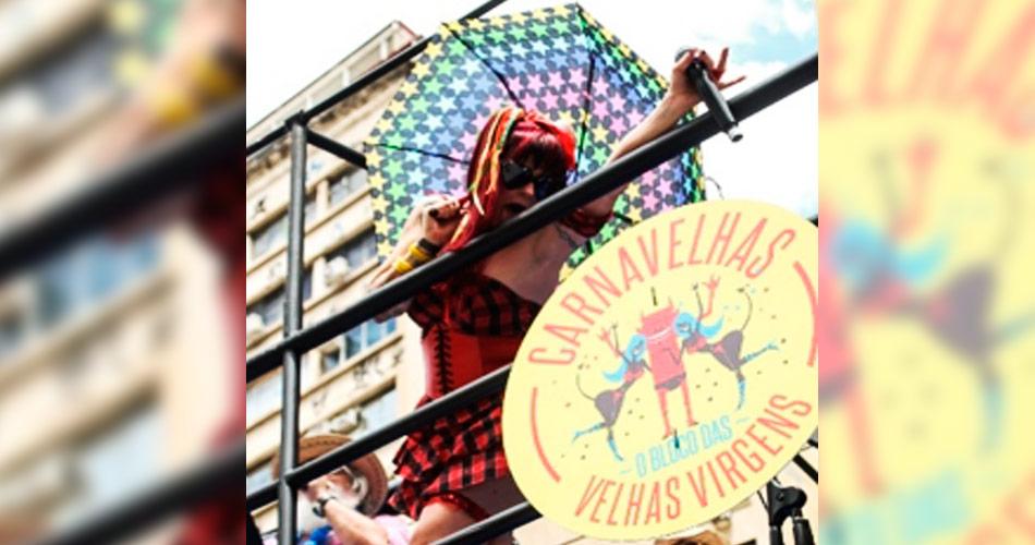 Banda Velhas Virgens faz Carnaval para roqueiros em São Paulo