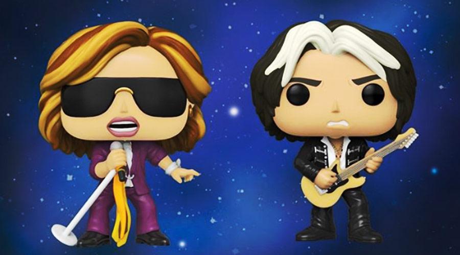 Steven Tyler e Joe Perry, do Aerosmith, ganham versões em bonecos colecionáveis