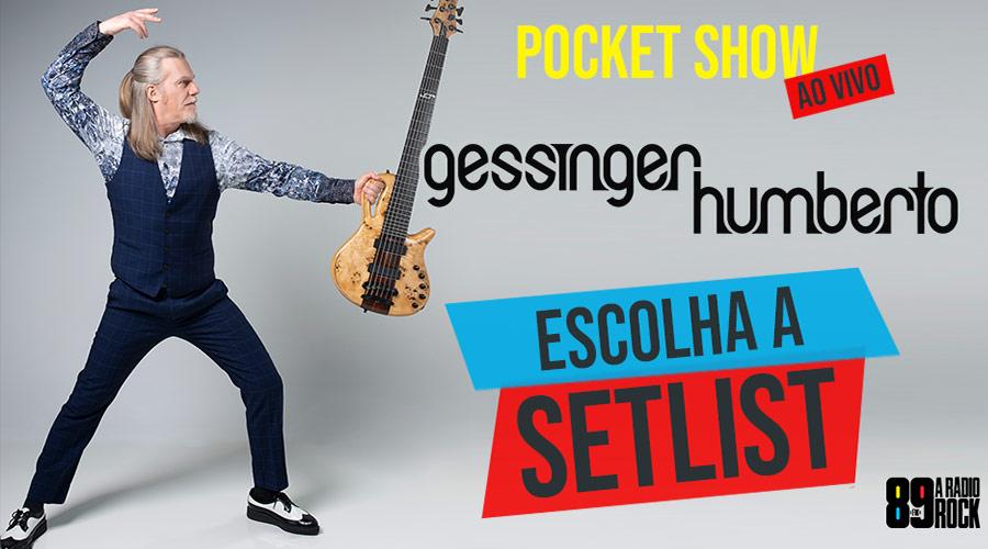 Humberto Gessinger no YouTube da 89! Ajude a definir a setlist