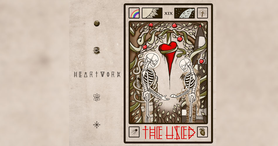 """""""Heartwork"""", novo álbum do The Used, já está disponível para audição"""