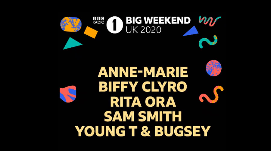 Radio 1 de Londres anuncia festival on-line com Biffy Clyro, Sam Smith e Rita Ora