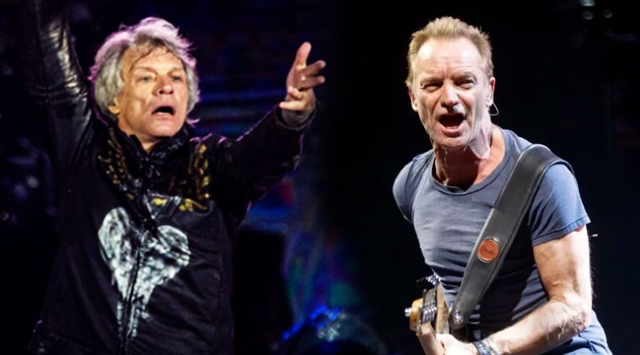 Bon Jovi e Sting integram superfesta on-line na próxima segunda-feira