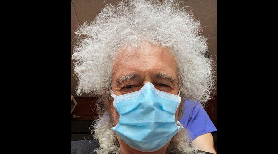 Brian May, do Queen, é hospitalizado após romper músculo do glúteo