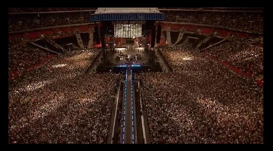 Show do Foo Fighters no Estádio de Wembley está liberado no canal do YouTube da banda