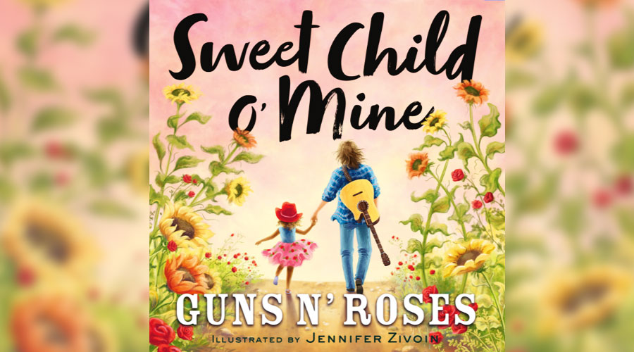 """Sweet Child O'Mine"", do Guns N'Roses, vira livro infantil"