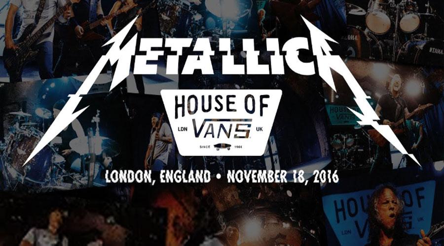 Metallica transmite no YouTube showzaço realizado em Londres