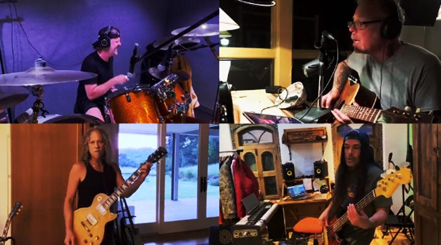 """Metallica presenteia fãs com versão virtual de """"Blackened"""""""